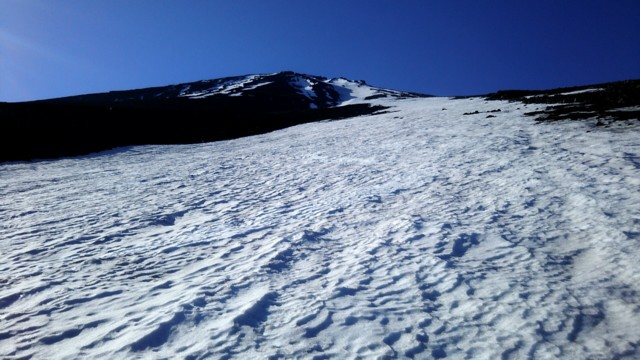 5月21日 雪渓末端
