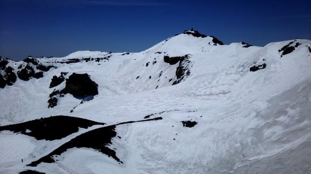 5月21日 日本最高所剣ヶ峰へ