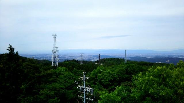 6月3日 三国山から瀬戸市街のほう