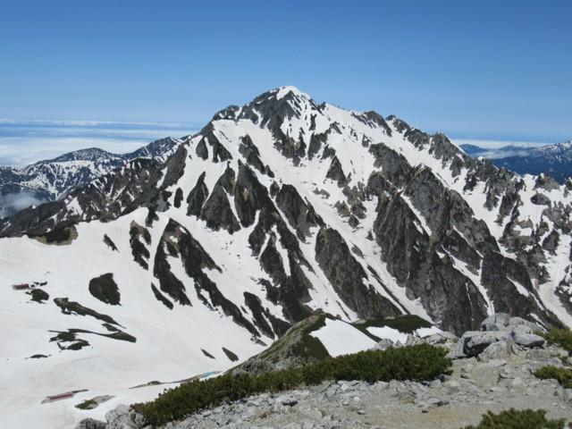 6月17日 別山2880から剱岳