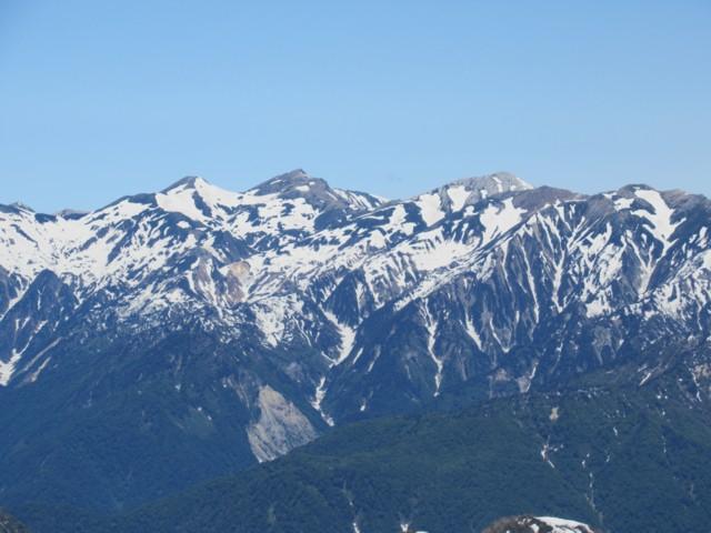 6月17日 白馬岳と白馬鑓ヶ岳