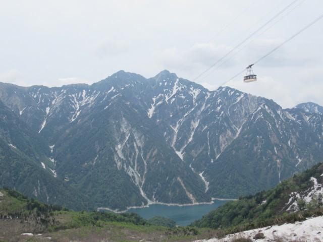 6月18日 スバリ岳と針ノ木岳
