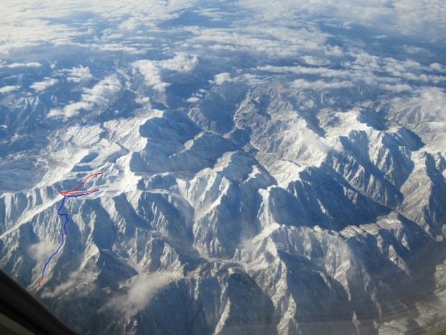 6月18日 立山連峰