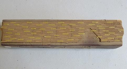 大鯨木甲板塗装の初めの方