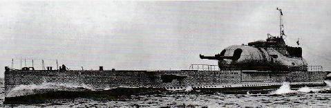 フランス潜水艦シュルクフ