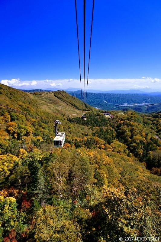 絶景探しの旅 - 0366 秋の栂池高原ロープウェイ (長野県 小谷村)