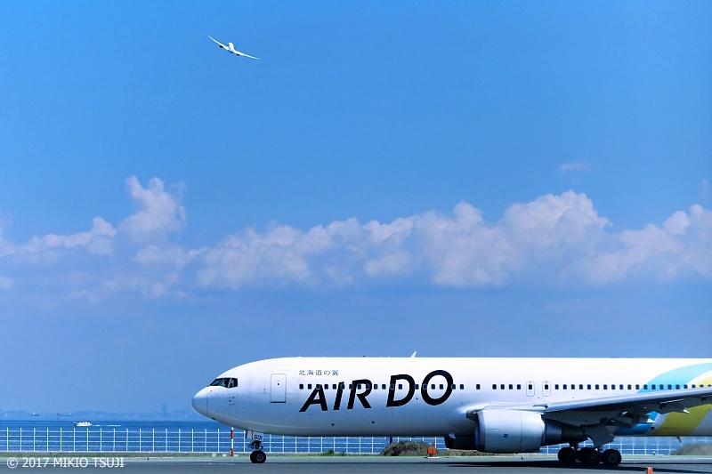 絶景探しの旅 - 0370 北海道の翼 AIR DO (羽田空港)