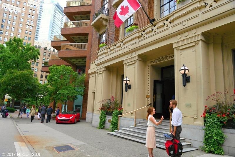 絶景探しの旅 - 0372 バンクーバーの街角とバンクーバークラブ (カナダ バンクーバー)