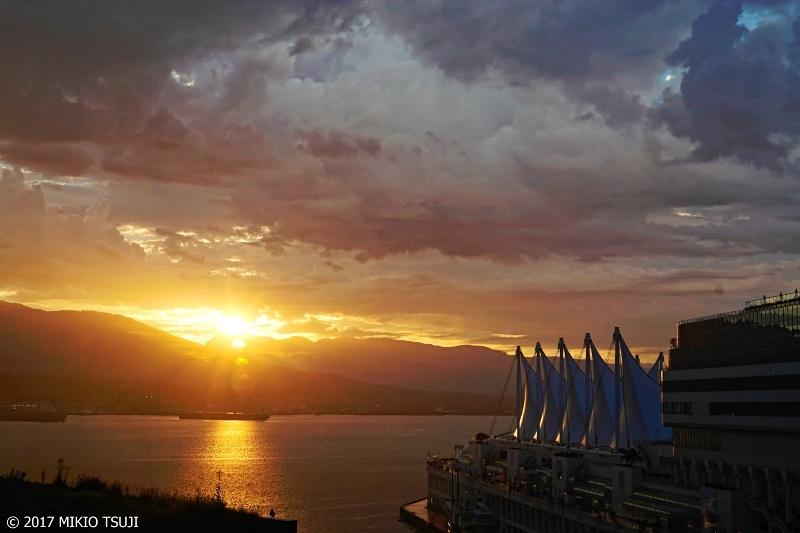 絶景探しの旅 - 0377 朝日のバンクーバー港 (カナダ バンクーバー)