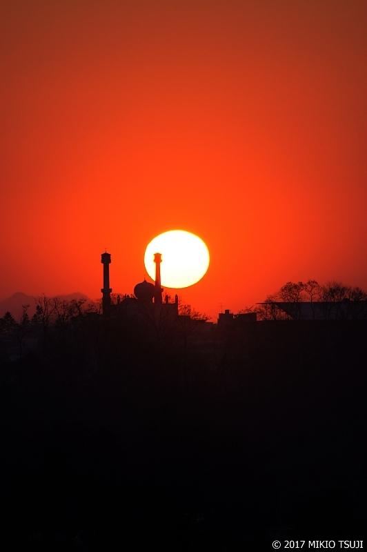 絶景探しの旅 - 0390 日の出の光に包まれるイスラム寺院(韓国 ソウル)