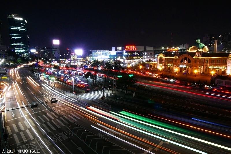0392 ソウル駅 の夜景 (ソウル市 中区)