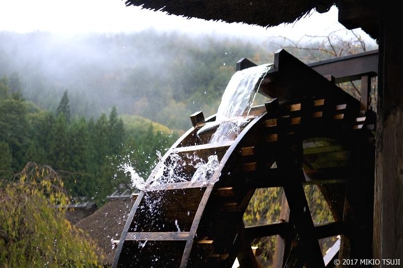 絶景探しの旅 - 0396 雨の日の水車  (いやしの里根場 /山梨県 富士河口湖町)