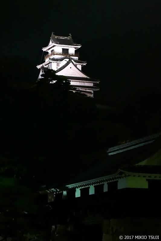 絶景探しの旅 - 0407 闇夜に浮かび上がる高知城 (高知県 高知市)
