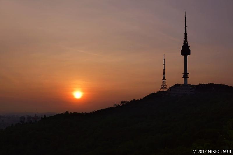 絶景探しの旅 - 0409 南山の夕暮れ (ソウル市 中区)