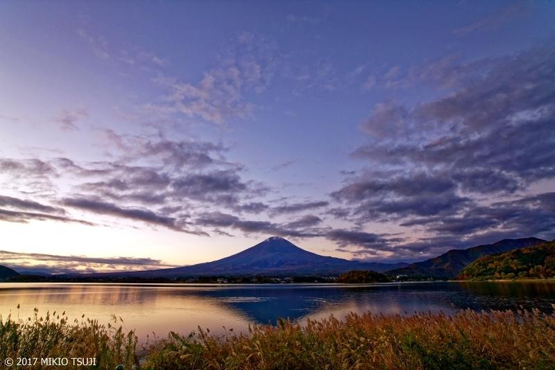 絶景探しの旅 - 0401 富士の夜明け (大石公園 山梨県 富士河口湖町)