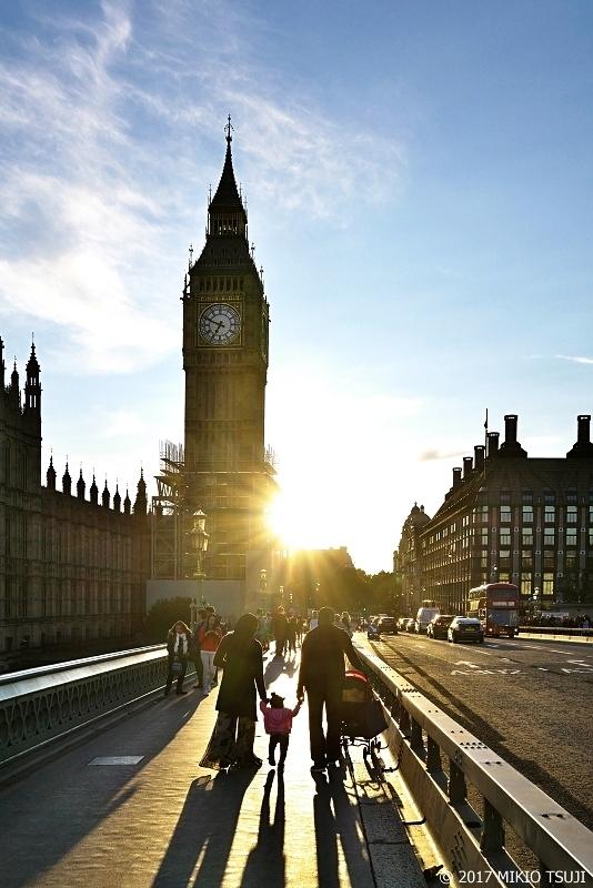 絶景探しの旅 - 0418 夕日のロンドン (ウエストミンスターブリッジ/英国 ロンドン)