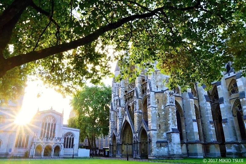 絶景探しの旅 - 0421 朝日の差し込むウェストミンスター寺院 (英国 ロンドン)