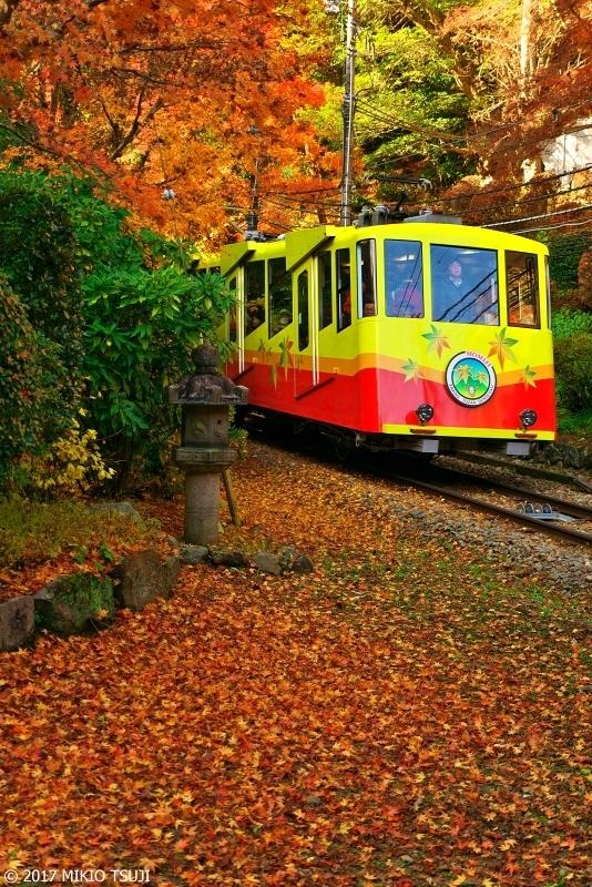絶景探しの旅 - 0422 紅葉の季節を行く高尾山ケーブルカー (東京都 八王子市)