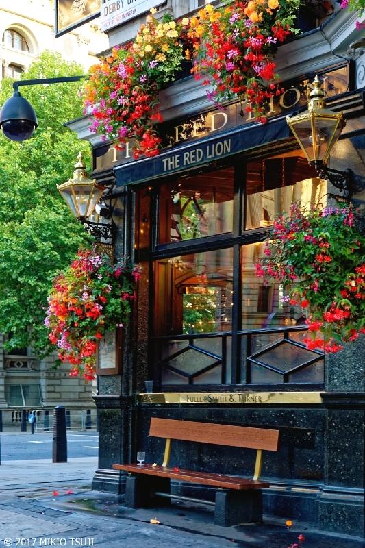 絶景探しの旅 - 0426 花のある店先 (THE RED LION/英国 ロンドン)
