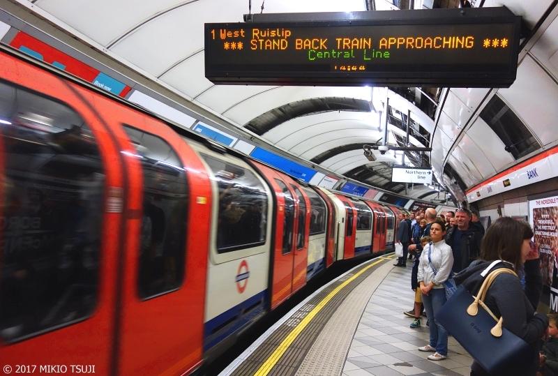 絶景探しの旅 - 0427 ロンドン地下鉄 UNDER GROUND (英国 ロンドン)
