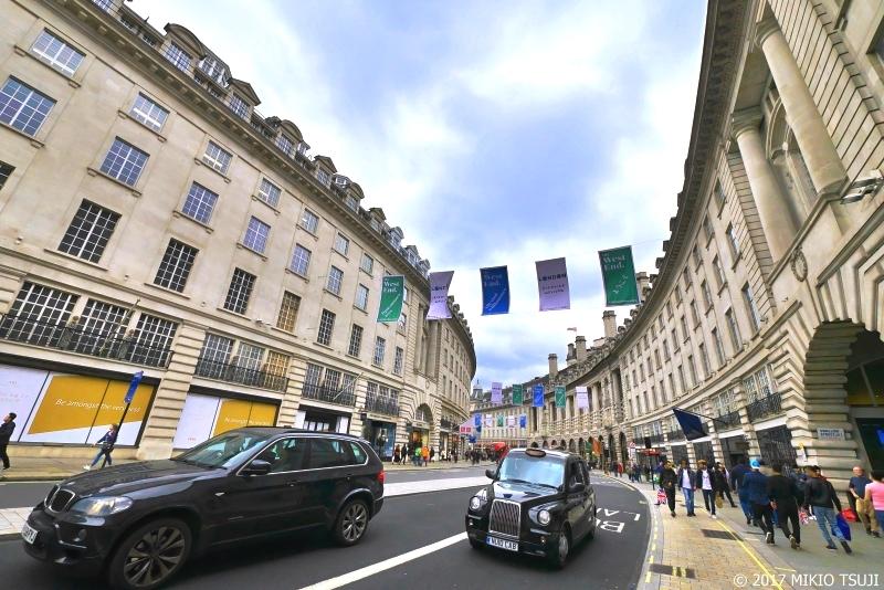 絶景探しの旅 - 0435 曲線道路が美しいリージェントストリート (英国 ロンドン)