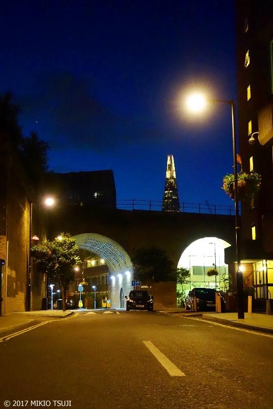 絶景探しの旅 - 0436 EUで一番高いビル「ザ・シャード」とロンドンの夜明け前の街 (英国 ロンドン)