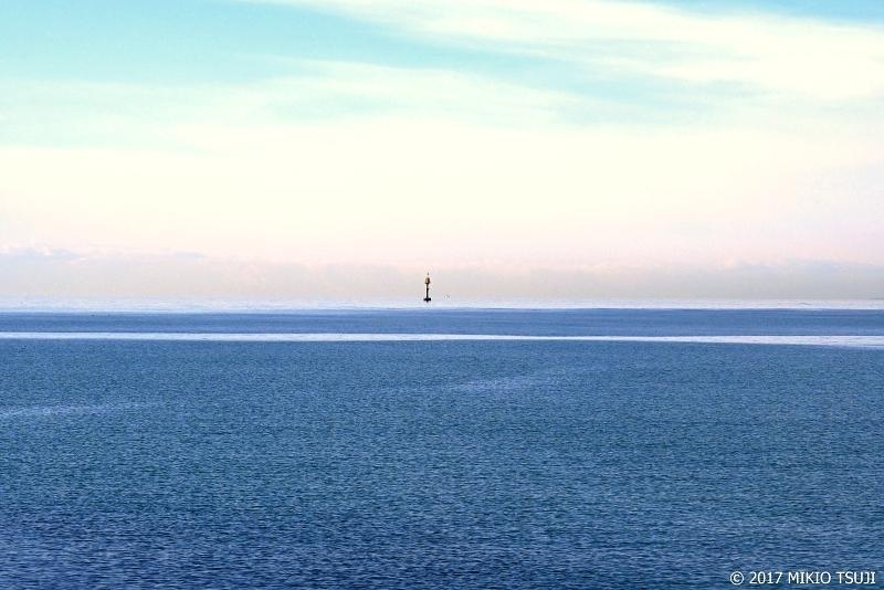 絶景探しの旅 - 0448 冬の青い海の風景 (千代の浦マリンパーク/北海道 釧路市)