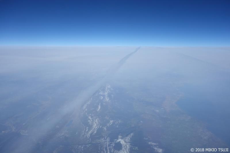 絶景探しの旅 - 0459 青い地球の空のベール (フランス上空)