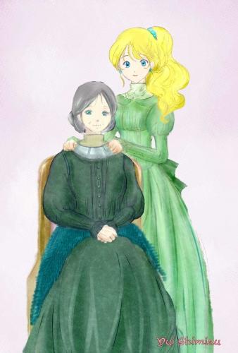 「レイリアとウルリーカ」